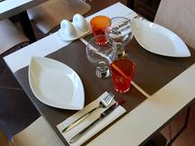 Horaires: Restaurant: le midi du lundi au vendredi de 12h00 � 14h30. Snack: du lundi au vendredi de 11h30 � 14h30. Livraison: du lundi au vendredi de 9h00 � 14h30. - image 5