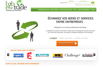 Plateforme d'échanges inter-entreprises. - présentation 3