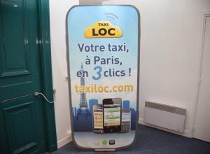 Réservation taxi Paris. Taxiloc concierge pour commander ou réserver. - présentation 2