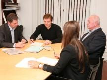 (G.I.F) est le fruit de l'association d'un administrateur de biens (17 ans d'expérience)  et d'un spécialiste de la restructuration des portefeuilles immobiliers (30 ans d'expérience) - image 5