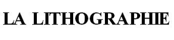 LA LITHOGRAPHIE COM (EDITIONS MICHEL DE SEGUINS)