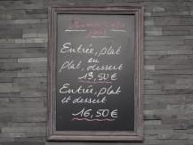 Suggestions : foie gras maison, filet de bar, ravioles à la crème de truffe ou tarte façon Tatin aux mangues - image 8