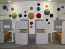 Meuble acoustique, bureaux, Open Space Paris - image 4