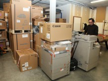 Distributeur matériel informatique et bureautique multifonctions professionnel, fax - image 2
