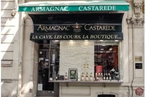 Armagnac XO. La boutique en plein cœur de paris, propose une gamme importante d'assemblages et de millésimes de 1960 à 1997. - présentation 2