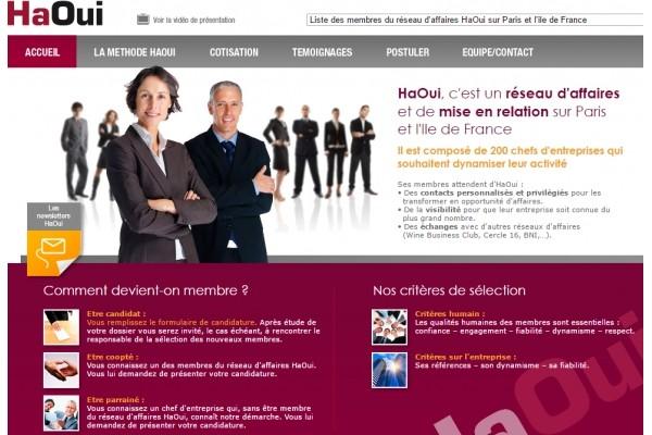 Réseau d'affaires Paris 75 et Ile de France. Club de dirigeants. Mise en relation. - présentation 3